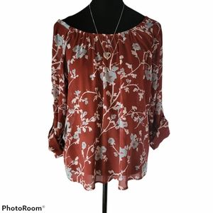 Tommy Bahama Floral Blouse